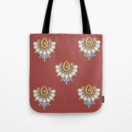 Hindi Pattern Tote Bag