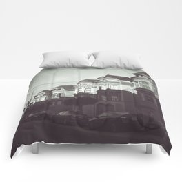 San Francisco Streets Comforters