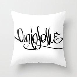 Ninjalollie Throw Pillow