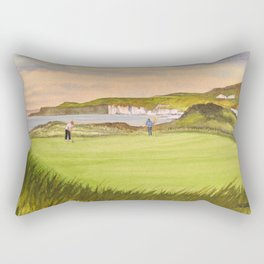 Royal Portrush Golf Course 5th Hole Rectangular Pillow