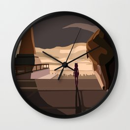 """""""Im not coming back"""" Wall Clock"""