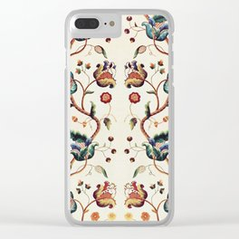 Vintage Tapestry Clear iPhone Case