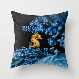 Jewel of the Coral Reef by Teresa Thompson Throw Pillow