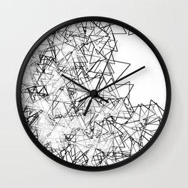 Minimalist origami Wall Clock