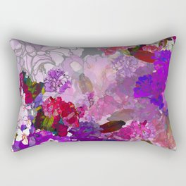 Purple Globes of Rhododendron  Rectangular Pillow