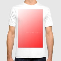 Solution Mens Fitted Tee MEDIUM White