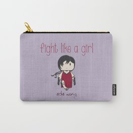 Fight Like a Girl 32 - Ada Wong Carry-All Pouch