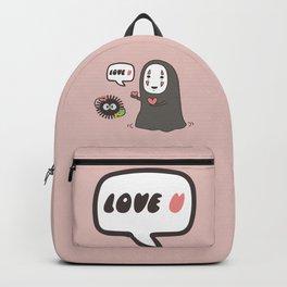 Studio Ghibli No-Face in Love of SootBall Backpack