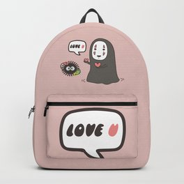 No-Face in Love of SootBall Backpack