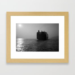 Graceful Leader Framed Art Print
