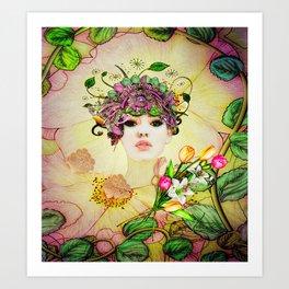 Mixing Memory and Desire Art Print