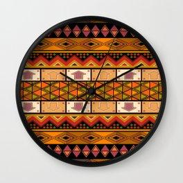 African design Wall Clock