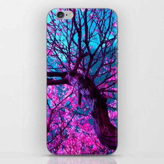purple tree XII iPhone & iPod Skin