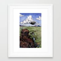 steam punk Framed Art Prints featuring Steam Punk by Elizabeth A