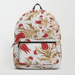 Turkish tulip - Ottoman tile 2 Backpack