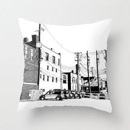 bloomington II Throw Pillow