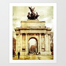 Wellington Arch Art Print