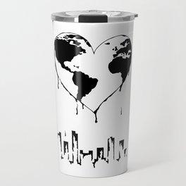 Melting Planet Travel Mug