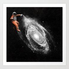 Space Art Art Print