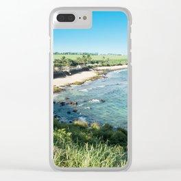 Hookipa Beach Clear iPhone Case