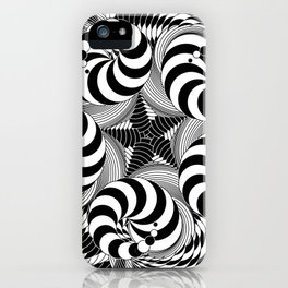 Harlequin Movements in 5/4 Time iPhone Case