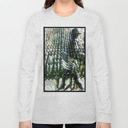 Cabsink16DesignerPatternFAM Long Sleeve T-shirt