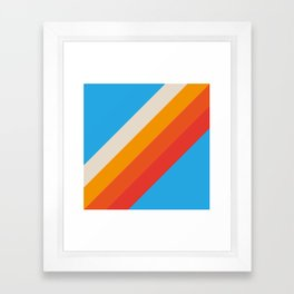 Classic Retro Gefjun Framed Art Print