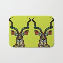 antelope chartreuse Bath Mat