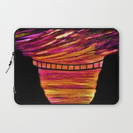 CARRICK-A-REDE SILHOUETTE Laptop Sleeve