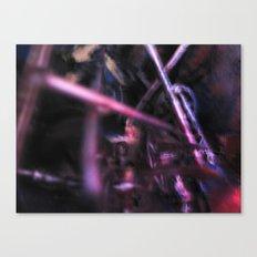 Glitch Space 6 Canvas Print