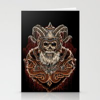 viking Stationery Cards featuring VIKING by Demones