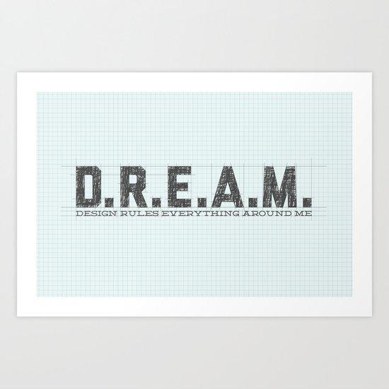 Design Rules Everything Around Me Art Print