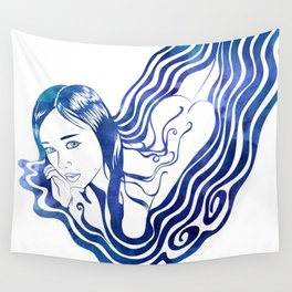 Water Nymph IX Wall Tapestry