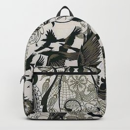 Gothic Pattern Backpack