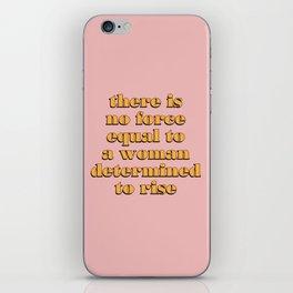 Rise! iPhone Skin