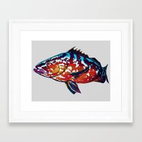 boss Framed Art Prints featuring Boss by Bocese