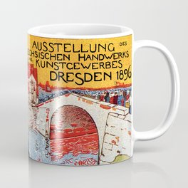German artisanal art expo Dresden 1896 Coffee Mug