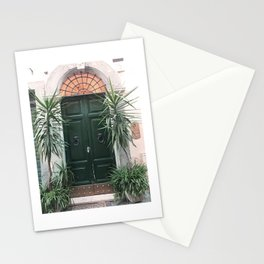 Doors of Rome, Green cactus Stationery Cards