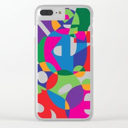 Letter land Clear iPhone Case