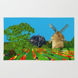 Dutch landscape Rug
