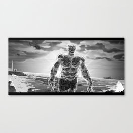 72 Precent Water Canvas Print