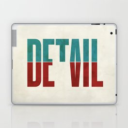 Devil in the detail. Laptop & iPad Skin