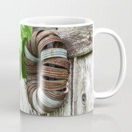 Rusty Wreath Coffee Mug