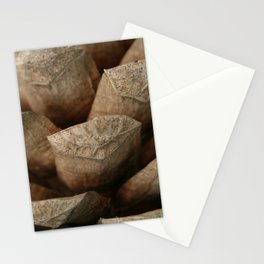 Brown Pinecone Macro Photography  Stationery Cards