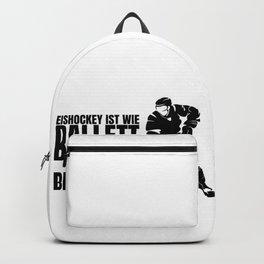 Ballet Ice Hockey Ice Hockey Sport Puck Gift Backpack
