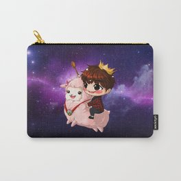 Shining Visual Ulzzang Male God of the Pasta Galaxy Carry-All Pouch