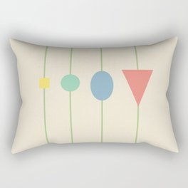 beading || may flowers Rectangular Pillow