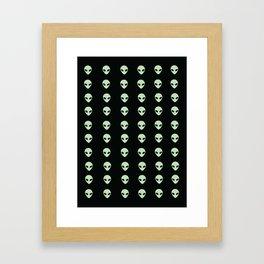 Aliens  Framed Art Print
