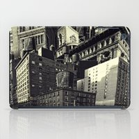 cityscape iPad Cases featuring Cityscape by Chris Lord