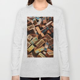 Chinese Bricks Long Sleeve T-shirt